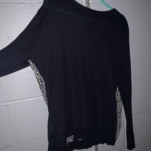 LOFT SWEATER WITH OPEN BACK